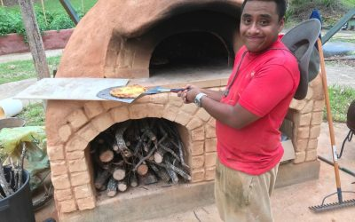 And then there was Pizza.. and more Natural Building